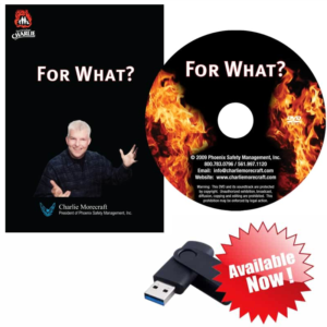 For What? Official DVD from Charlie Morecraft